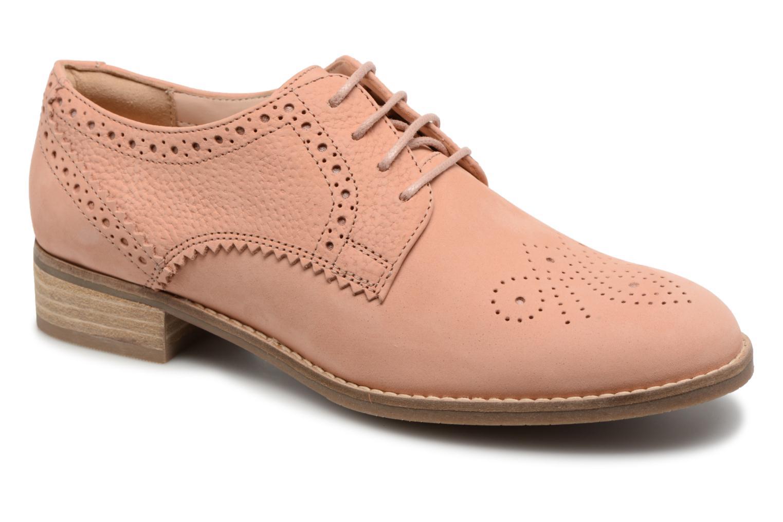 Clarks Netley Rose (Rose) - Chaussures à lacets chez Sarenza (327280)