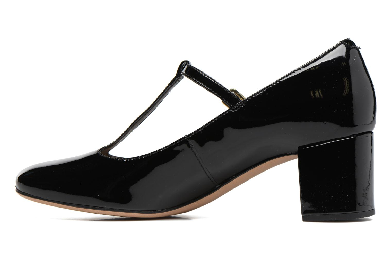 Orabella Fern Black leather