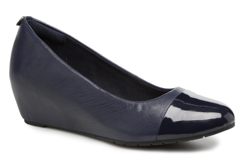 Clarks Vendra Dune (Bleu) - Escarpins chez Sarenza (323899)