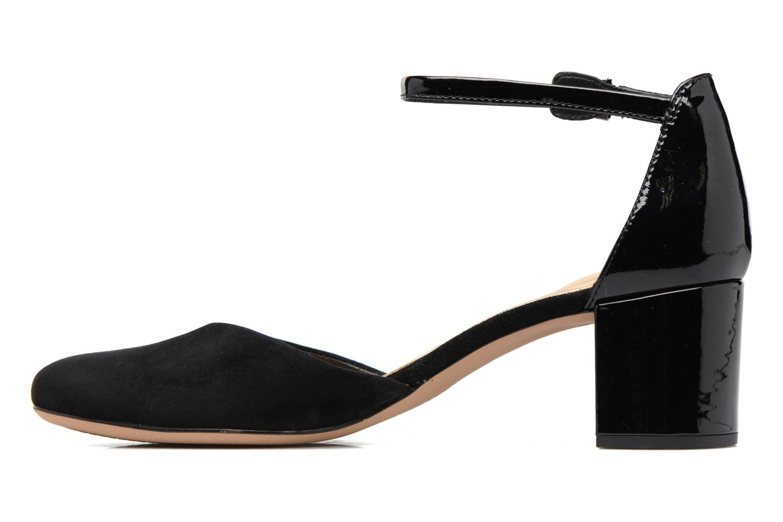 High heels Clarks Orabella Wish Black front view