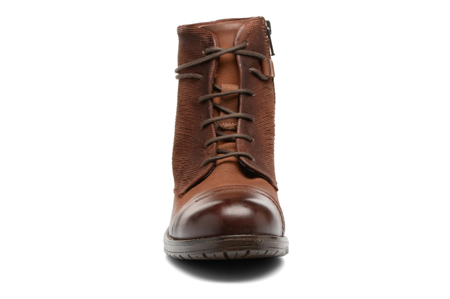 Ankle boots Clarks Adelia Stone Brown model view