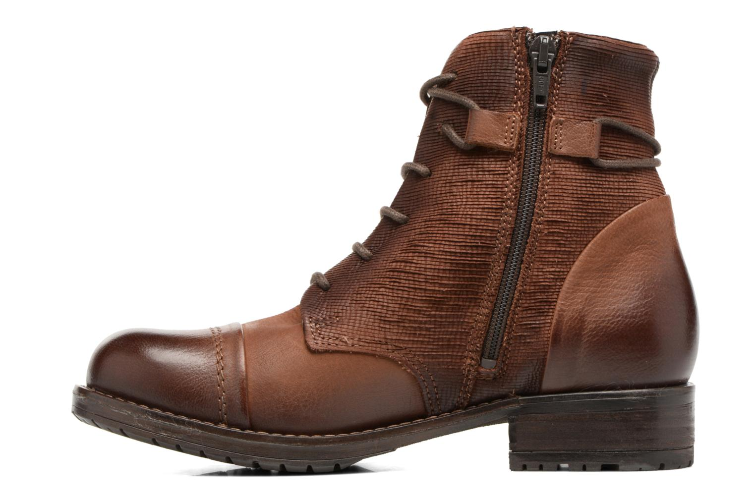 Ankle boots Clarks Adelia Stone Brown front view
