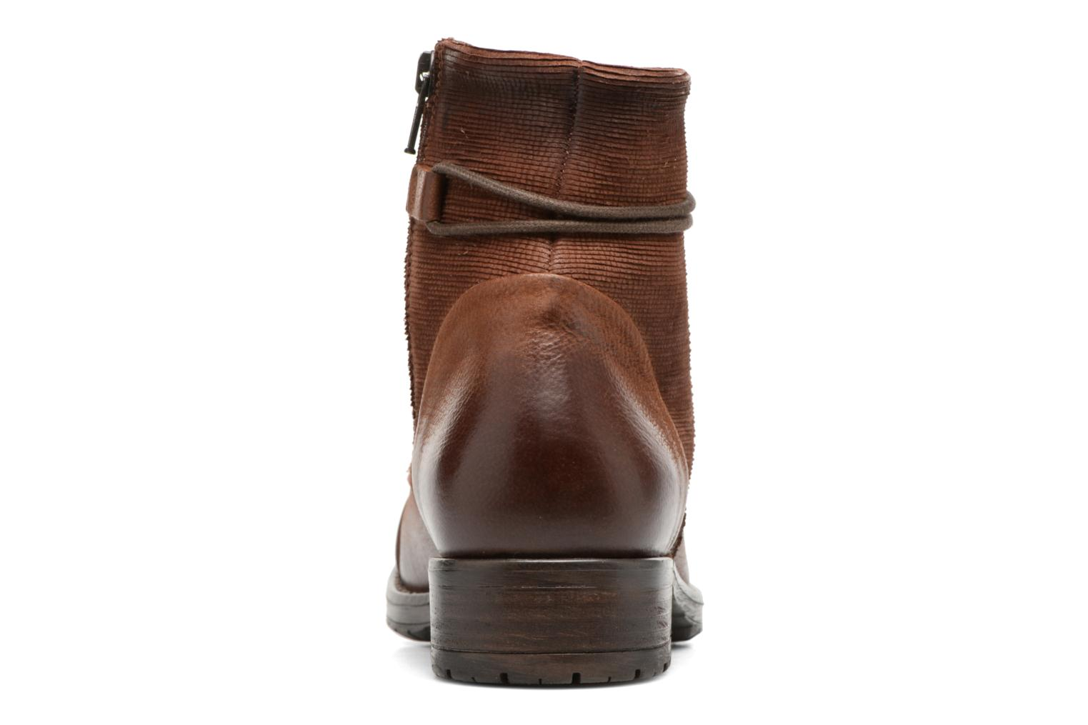 Ankle boots Clarks Adelia Stone Brown view from the right
