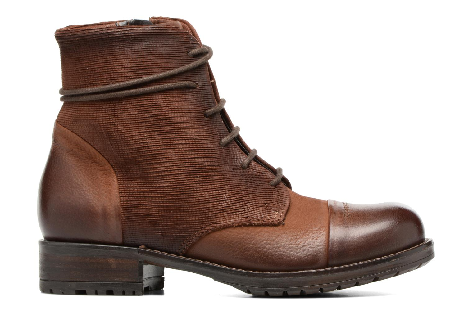 Ankle boots Clarks Adelia Stone Brown back view
