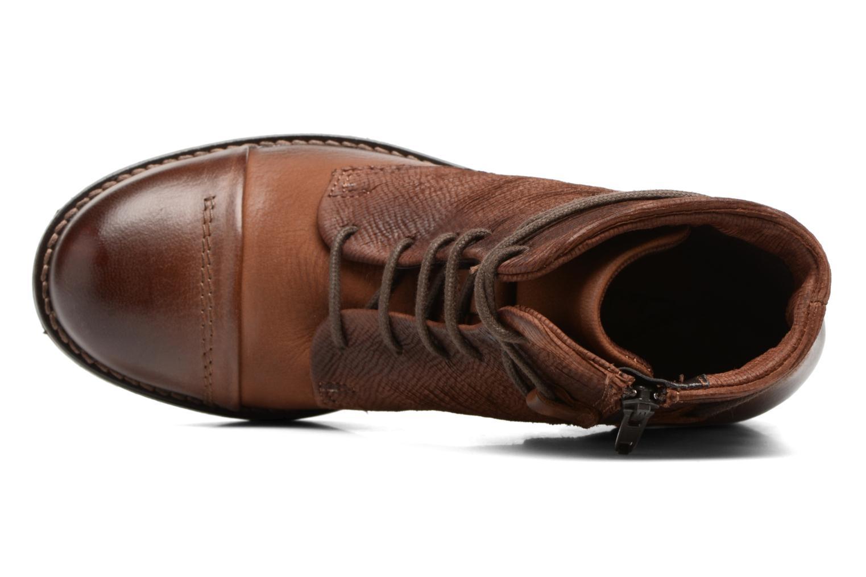 Bottines et boots Clarks Adelia Stone Marron vue gauche