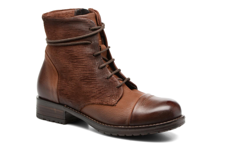Bottines et boots Clarks Adelia Stone Marron vue détail/paire