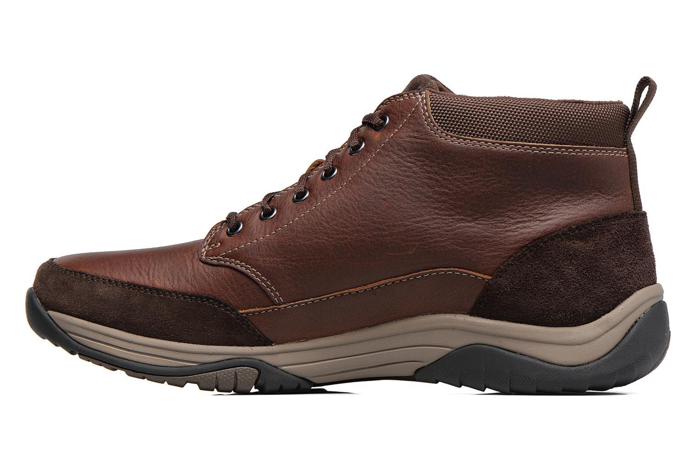 Bottines et boots Clarks BaystoneTopGTX Marron vue face