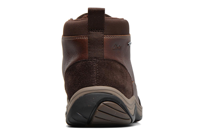 Bottines et boots Clarks BaystoneTopGTX Marron vue droite