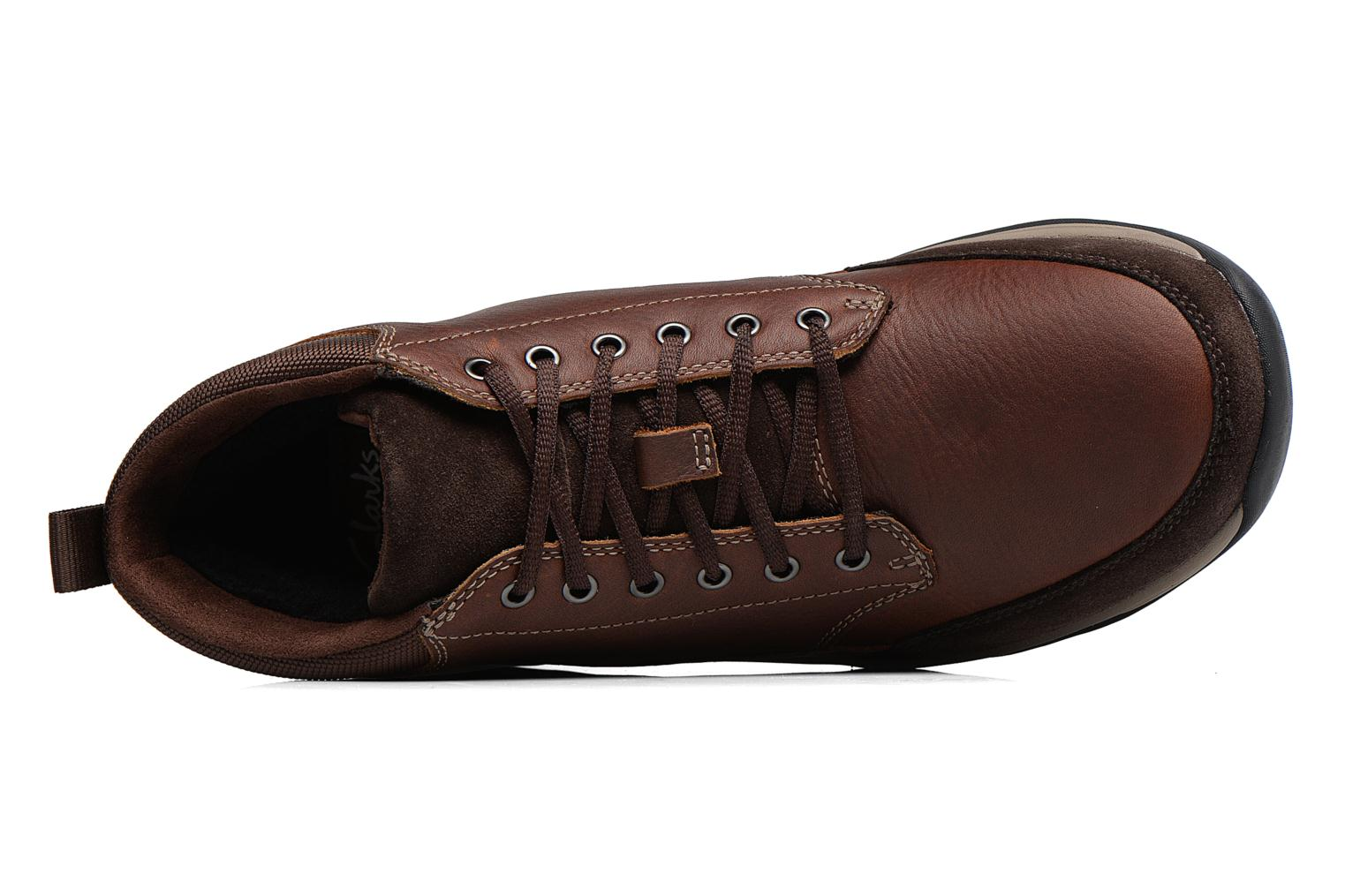 BaystoneTopGTX Brown WLined Lea