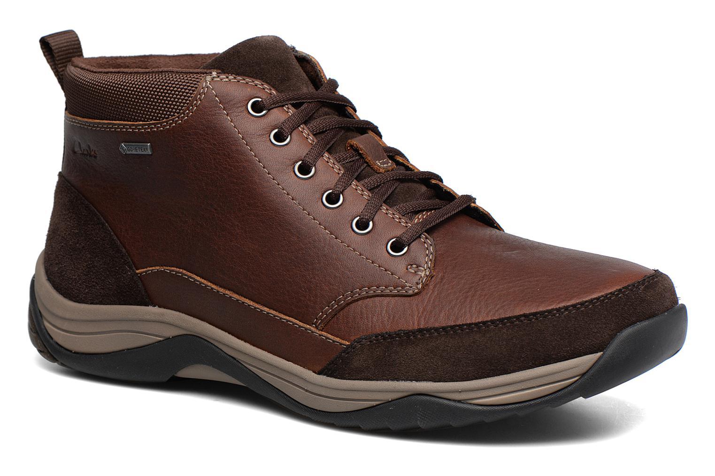 Bottines et boots Clarks BaystoneTopGTX Marron vue détail/paire