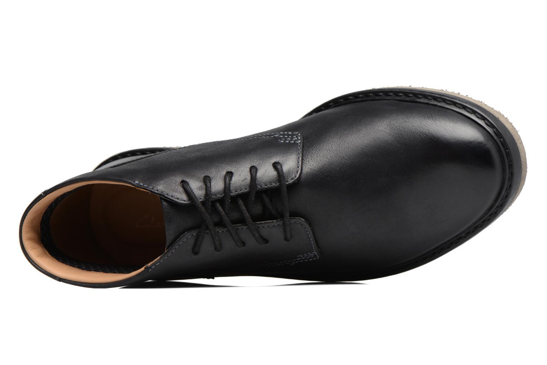 Bonnington Top Black leather