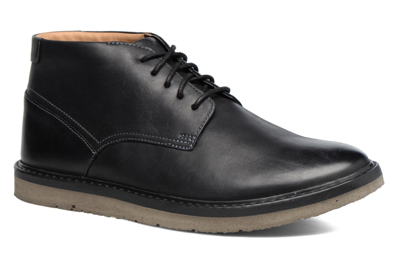 Marques Chaussure homme Clarks homme Claude Plain Black leather
