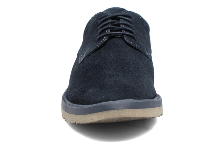 Schnürschuhe Clarks BonningtonLace blau schuhe getragen