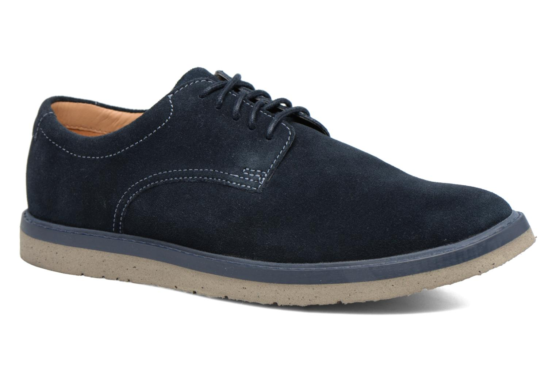 Chaussures à lacets Clarks BonningtonLace Bleu vue détail/paire