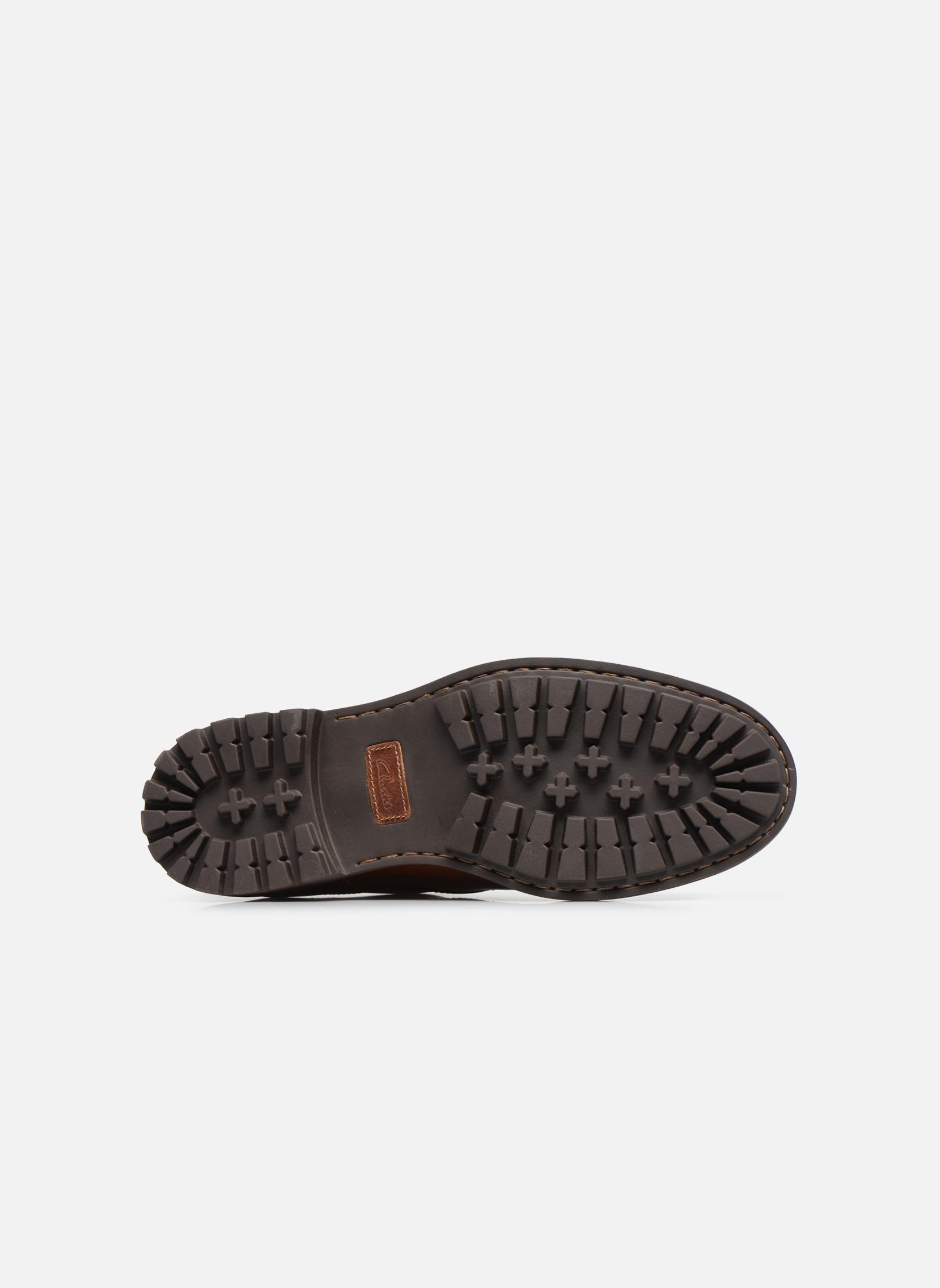 Chaussures à lacets Clarks Montacute Hall Marron vue haut