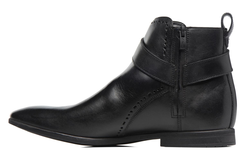 Bottines et boots Clarks Bampton Mid Noir vue face