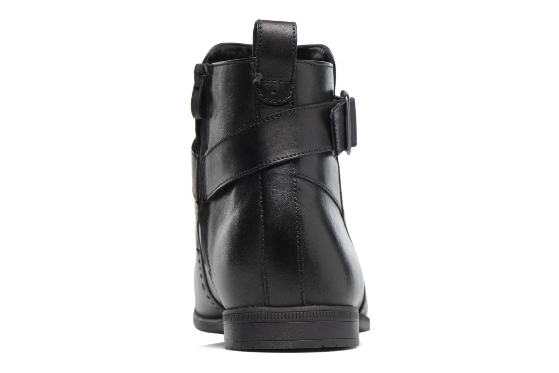 Bampton Mid Black leather