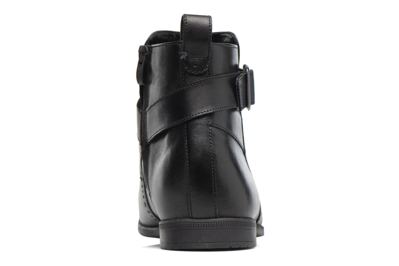 Bottines et boots Clarks Bampton Mid Noir vue droite