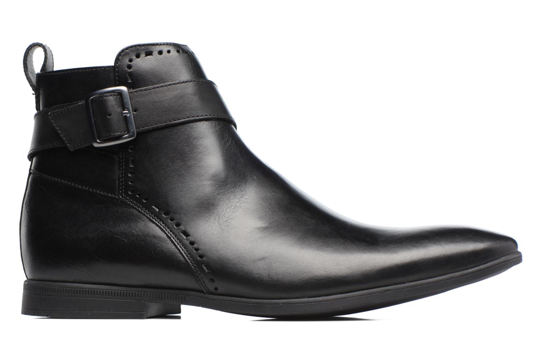 Bottines et boots Clarks Bampton Mid Noir vue derrière