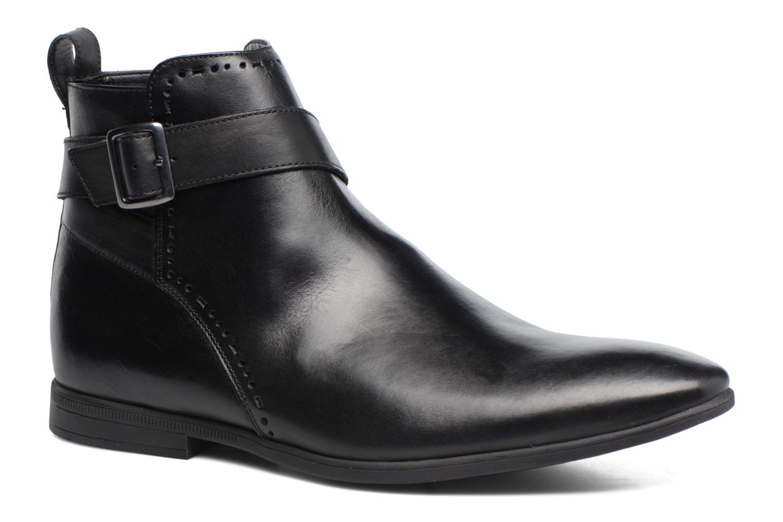 Bottines et boots Clarks Bampton Mid Noir vue détail/paire