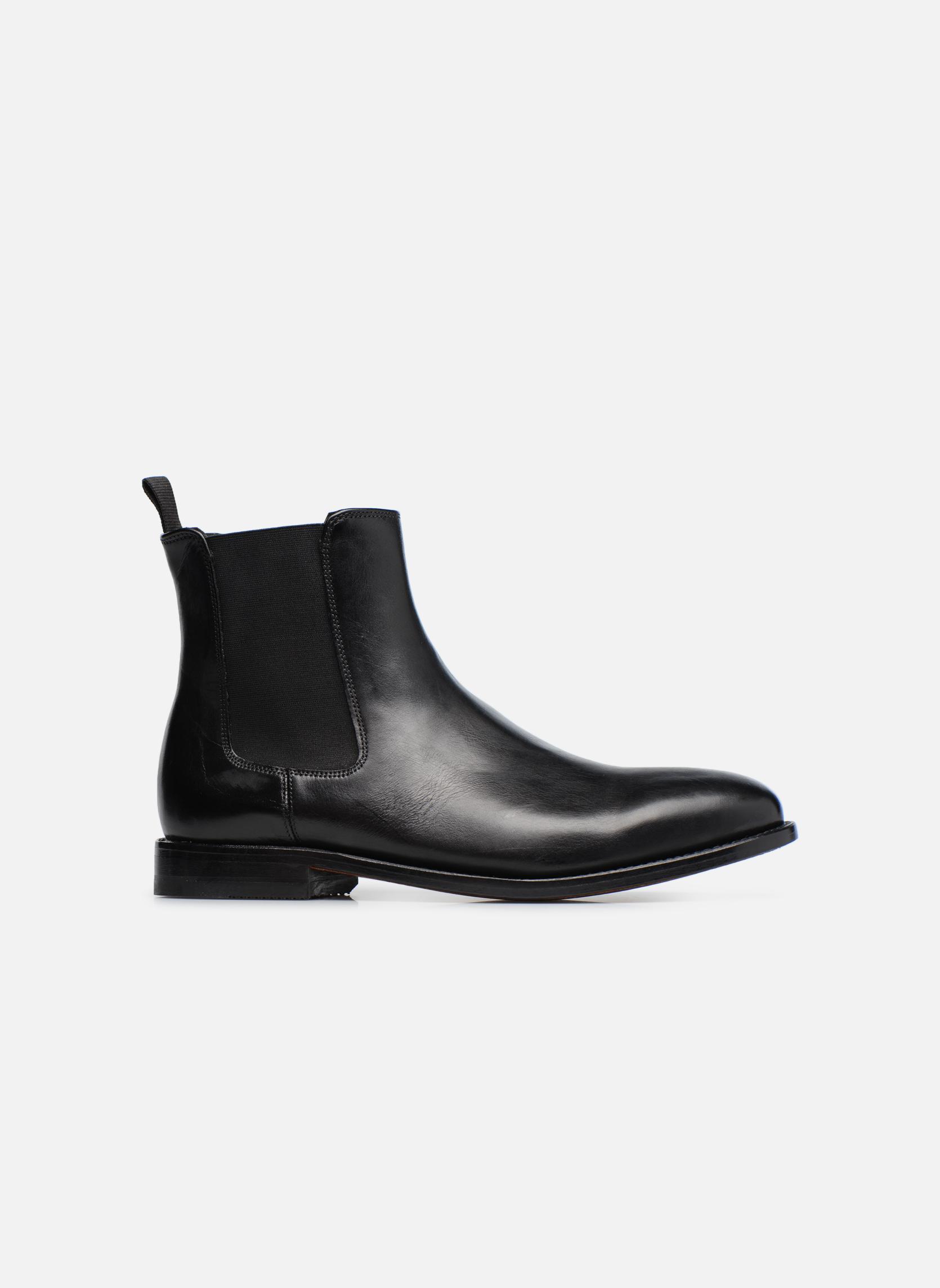 Ellis Franklin Black leather