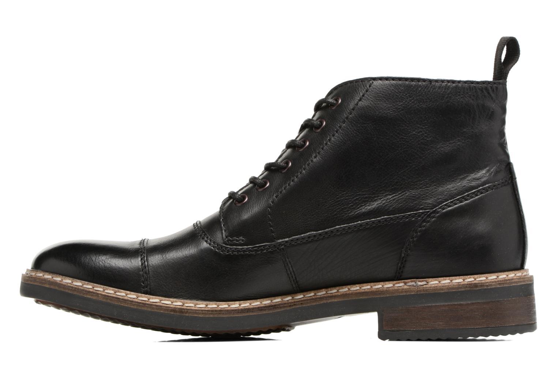 Bottines et boots Clarks Blackford Cap Noir vue face