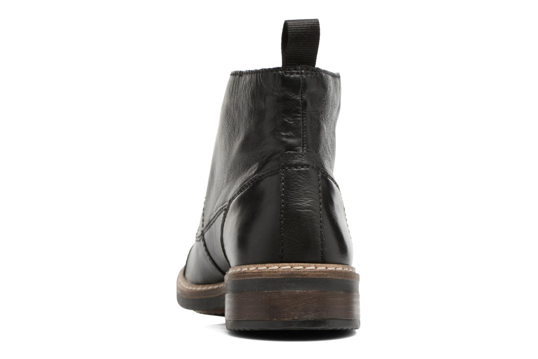 Bottines et boots Clarks Blackford Cap Noir vue droite