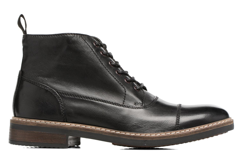 Bottines et boots Clarks Blackford Cap Noir vue derrière