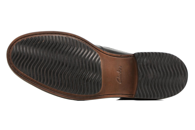 Bottines et boots Clarks Blackford Cap Noir vue haut
