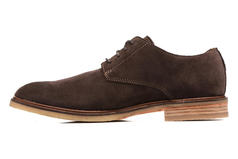 Chaussures à lacets Clarks Clarkdale Moon Marron vue face