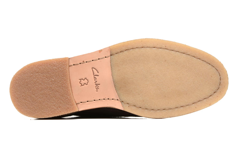 Chaussures à lacets Clarks Clarkdale Moon Marron vue haut