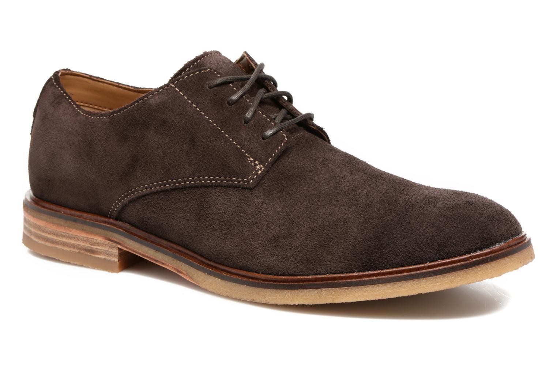 Chaussures à lacets Clarks Clarkdale Moon Marron vue détail/paire