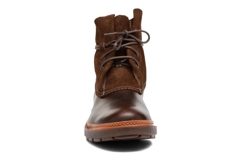 Boots en enkellaarsjes Clarks Trace Dusk Bruin model