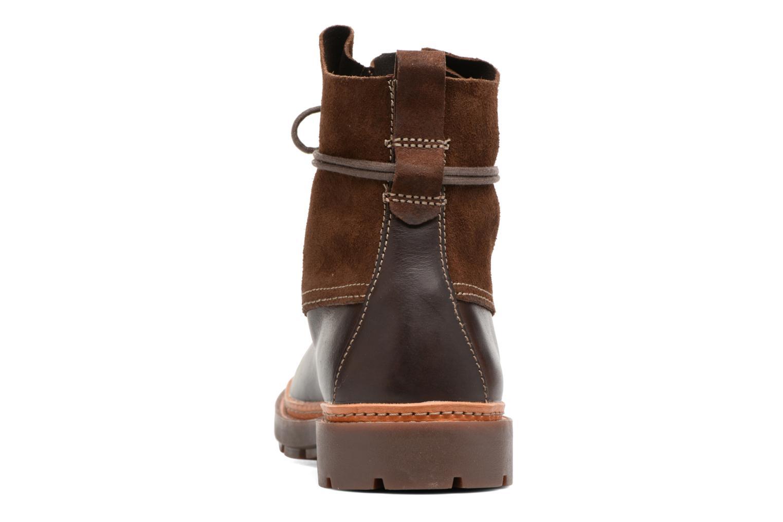 Bottines et boots Clarks Trace Dusk Marron vue droite