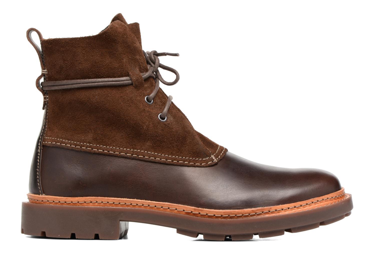Boots en enkellaarsjes Clarks Trace Dusk Bruin achterkant