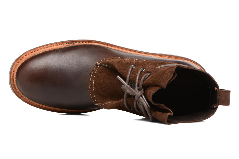 Boots en enkellaarsjes Clarks Trace Dusk Bruin links