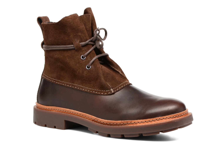 Boots en enkellaarsjes Clarks Trace Dusk Bruin detail