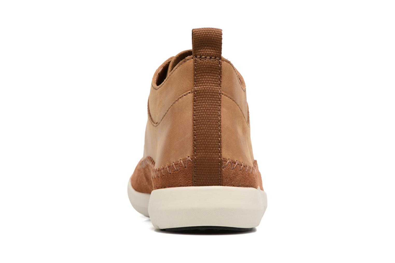 Sneakers Clarks Trifri Hi Bruin rechts
