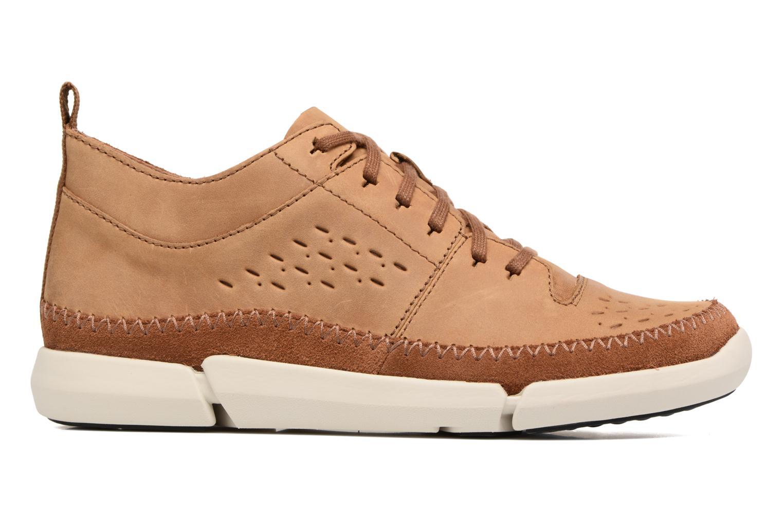 Sneakers Clarks Trifri Hi Bruin achterkant