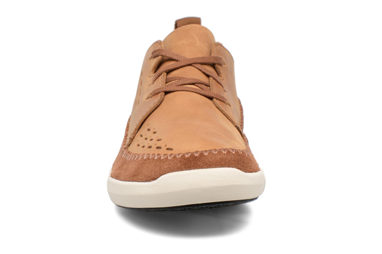 Baskets Clarks Trifri Lace Marron vue portées chaussures