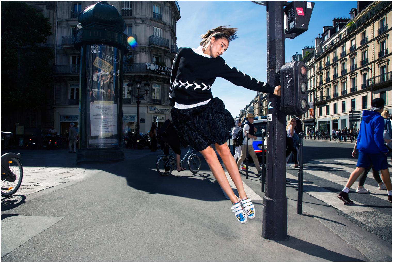 Sneakers Made by SARENZA Made by Sarenza X Camille Walala Sneakers Multicolor voorkant