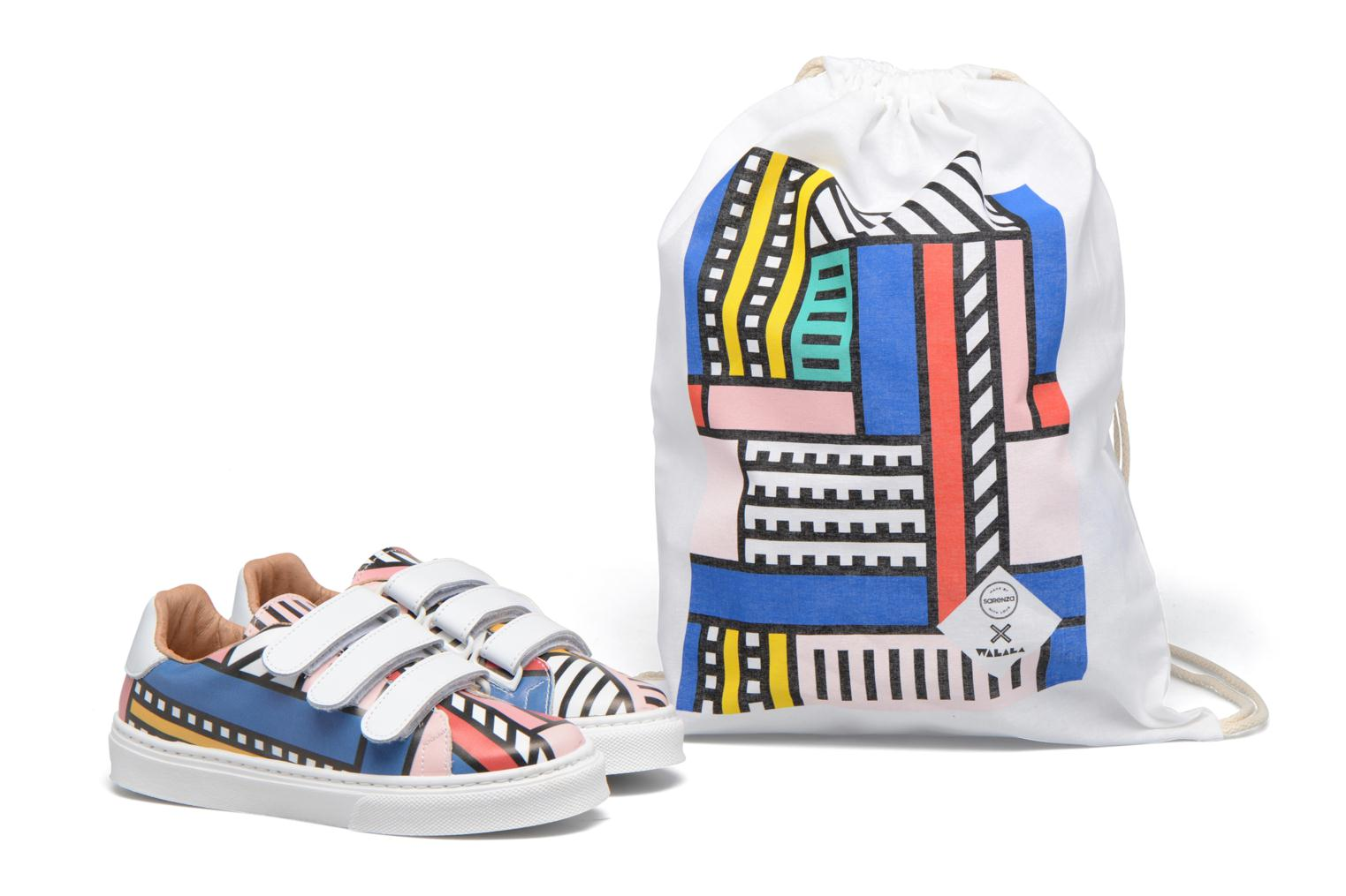 Baskets Made by SARENZA Made by Sarenza X Camille Walala Sneakers Multicolore vue derrière