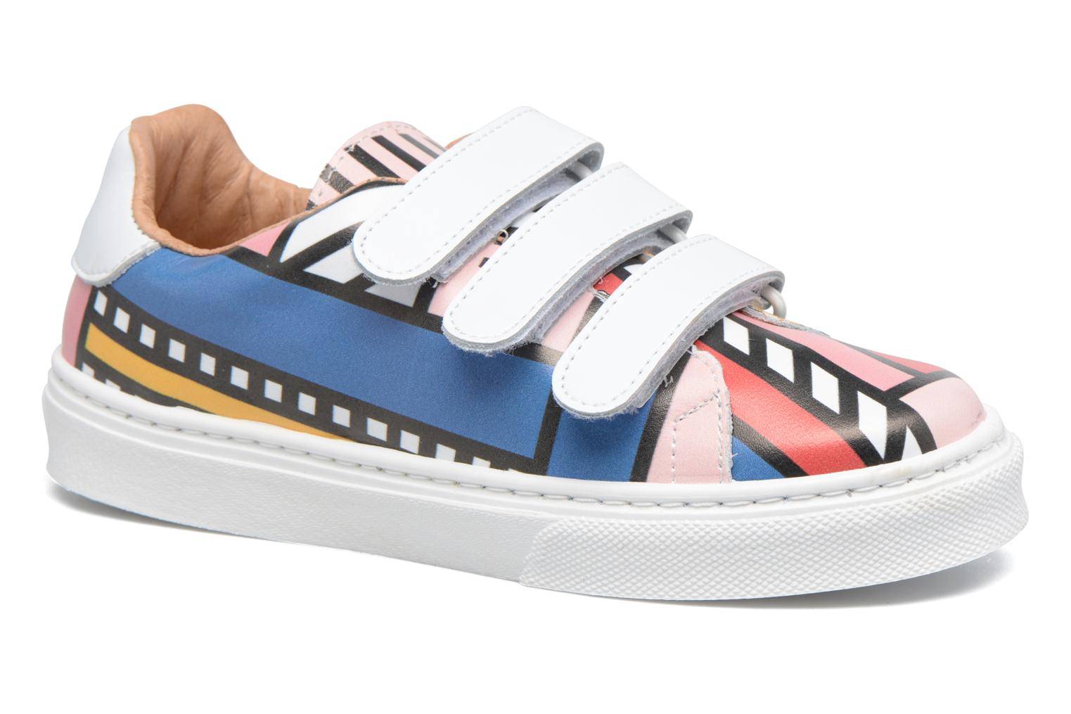 Baskets Made by SARENZA Made by Sarenza X Camille Walala Sneakers Multicolore vue gauche