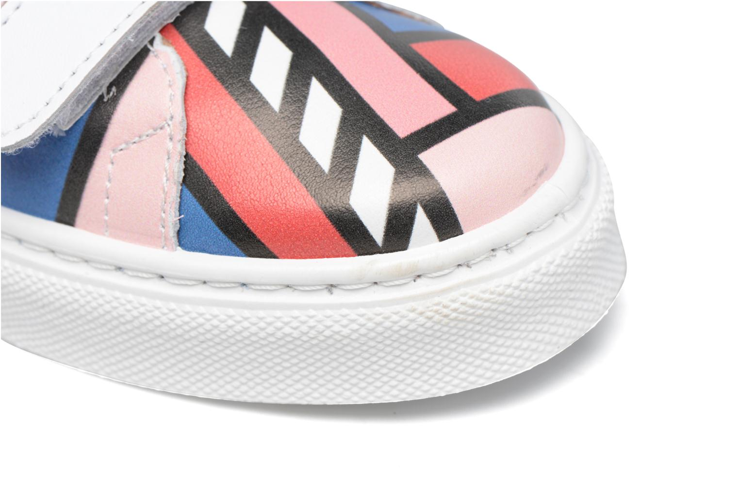 Baskets Made by SARENZA Made by Sarenza X Camille Walala Sneakers Multicolore vue haut