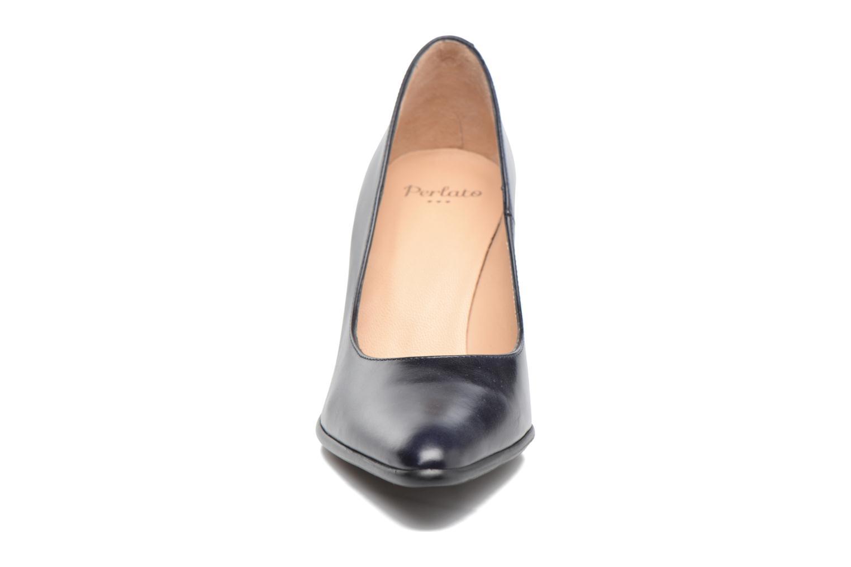 Escarpins Perlato Acosta Bleu vue portées chaussures