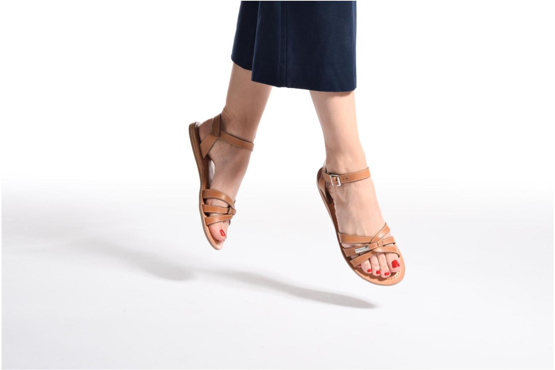 Sandals Les Tropéziennes par M Belarbi Balisto Pink view from underneath / model view