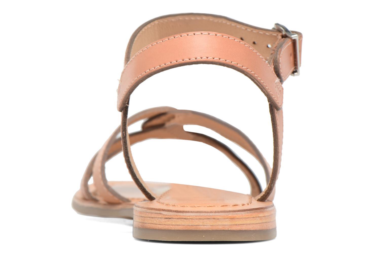 Sandals Les Tropéziennes par M Belarbi Balisto Pink view from the right