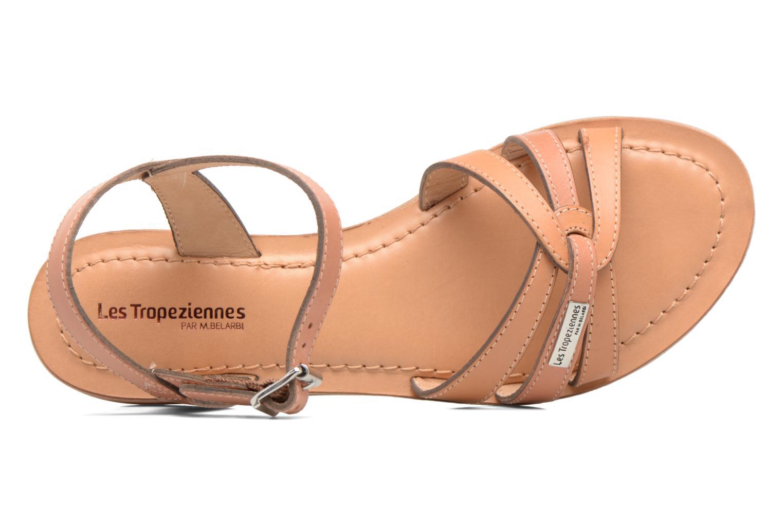 Sandals Les Tropéziennes par M Belarbi Balisto Pink view from the left