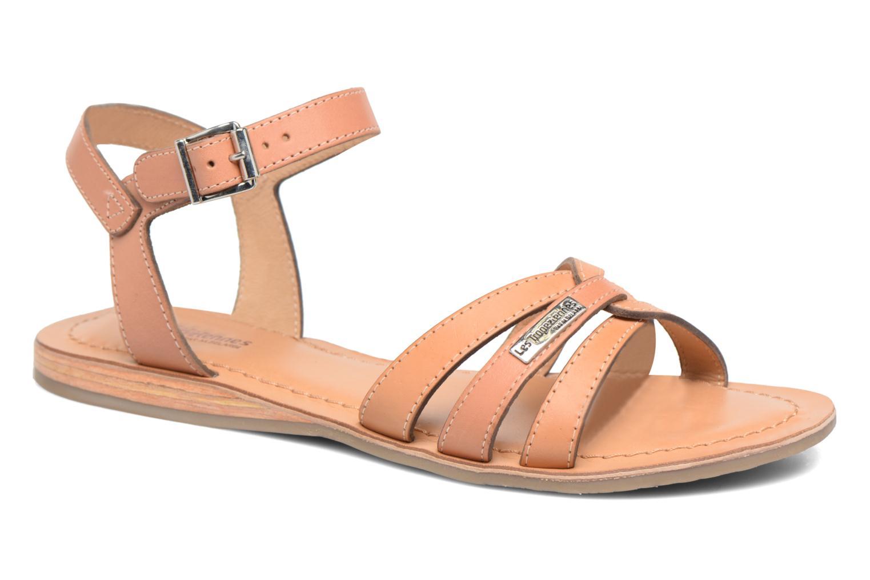 Sandals Les Tropéziennes par M Belarbi Balisto Pink detailed view/ Pair view