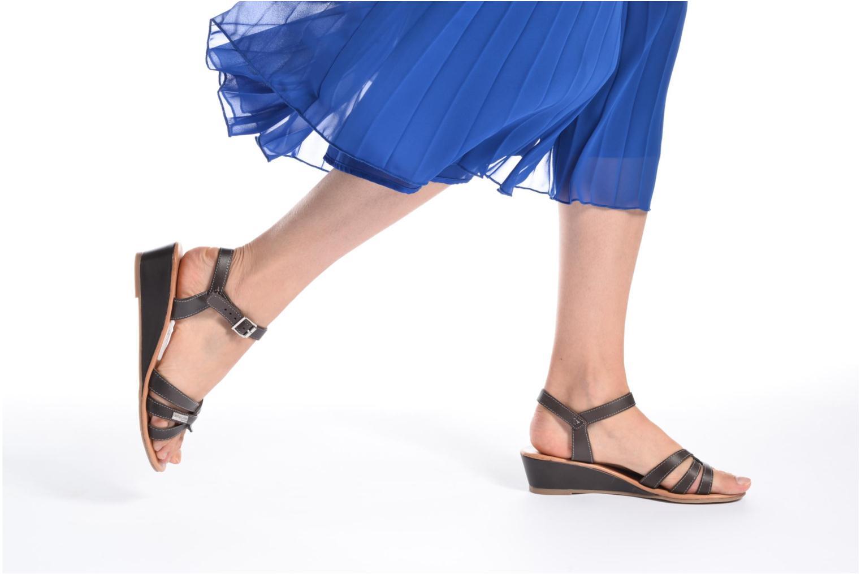Sandales et nu-pieds Les Tropéziennes par M Belarbi Bolero Beige vue bas / vue portée sac